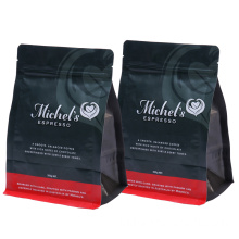 Paper Square Bottom Plastic Coffee Packing Bags