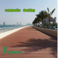 Decking composto durável Anti-UV exterior da madeira WPC