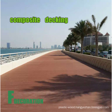 Outdoor Anti-UV Long Lasting Composite Wood WPC Decking