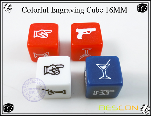 Colorful Engraving Cube