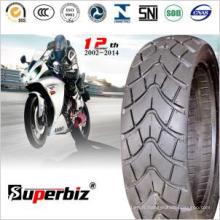 Scooter professionnel fabricant de pneus Tubeless (130/60-13)
