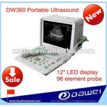 Полный цифровой светодиодный ультразвуковое сканирование машина для DW360 портативный УЗИ аппарат УЗИ