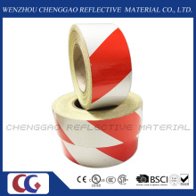 3100 Pet Untearable Material Reflective Prestriped Barricade Tape (C1300-S)
