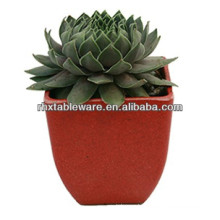 ECO-FRIENDLY indoor/garden plant fiber flowerpot/plant fiber pot