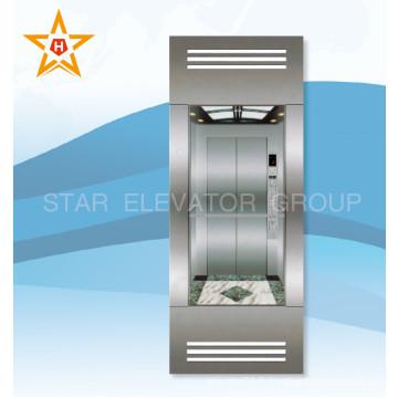 Ascenseur panoramique économique avec mur de verre de visite