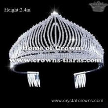 High Quality Rhinestone Pageant Tiaras