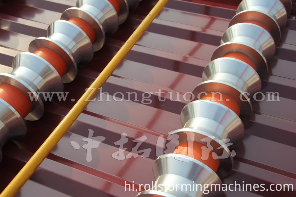 Aluminium Metal Roofing Roll Formers