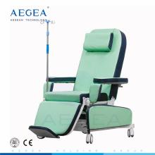 AG-XD208B Medizinische Behandlung Patienten Sitze elektrische Leistungsanpassung mobilen Blutspender Stuhl