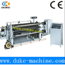 China Manufacturer High Rigidity Horizontal Automatic PE Film Slitting Machine (GFQ)