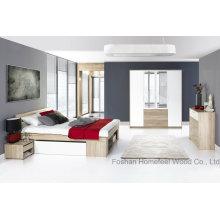 Индивидуальные деревянные наборы мебели для спальни (HF-EY08267)
