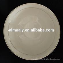 Tigela de cerâmica branca GGK