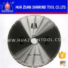 Hoja de sierra de corte de hormigón de material de diamante de 16 pulgadas