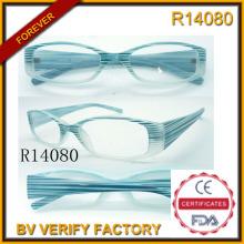 Lentes de lectura marco grande y gafas de lectura equipo radiación (R14080)