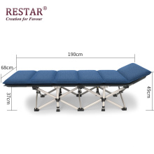 2018 Single Metal Bed Manufacture Wholesale Beds Foldable Lightweight