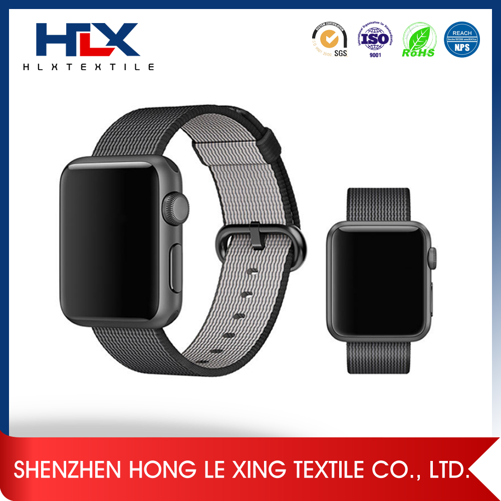 Nylon apple watch band strap