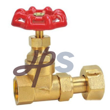 China manufacture brass gate valve for water meter