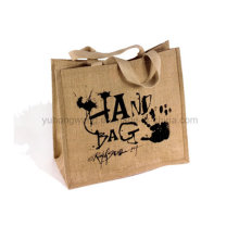 Bolsa de lona barata, bolsa de compras de algodón
