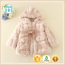 winter coats for children christmas long sleeve wholesale jackets fur 2016 fashion little girls fleece coats