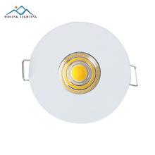 Beste qualität neues produkt warmweiß aluminium rgb trim ring einstellbare led downlight 3w