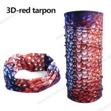 High Quality 3D Fishing Scarf