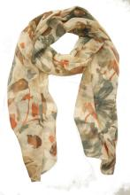 Ink and Wash Printing Scarf