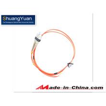 62.5 / 125 Duplex 2.0mm Cable Puente de fibra óptica