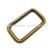 Fashion High Quality Metal Antique Brass Rectangle Ring