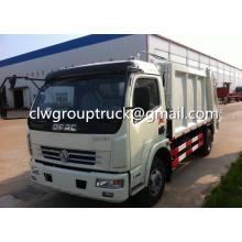Caminhão compactador de lixo Dongfeng Duolika 7-8CBM