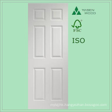 Modern Design White Composite Wooden Door