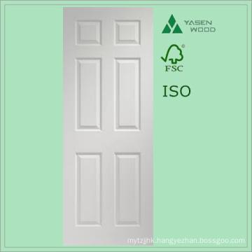 Modern Design White Composite Wooden Door