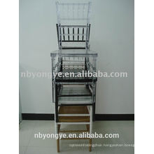 HIGH QUALITY STACKABLE PLASTIC RESIN CHIAVARI TIFFANY CHAIR