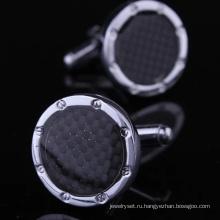 Высокое качество металла подарок Запонки (Hlk30497)