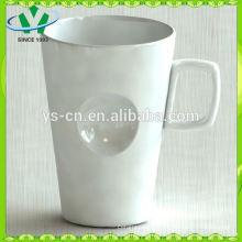 Горячая кружка кофе сбываний оптовой продажи керамическая, большие кружки супа