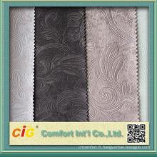 Chine tissu en cuir synthétique gaufré pour canapé et sacs à main