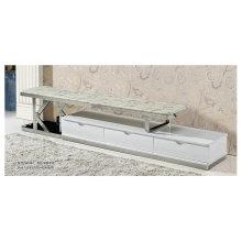 Современный дизайн мрамора и ТВ мебель из нержавеющей стали (8001)