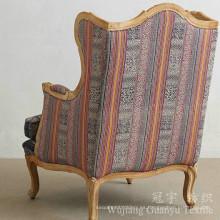 Tejido de lino decorativo con tela 100% poliéster