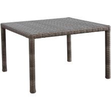 Mesa de comedor de mimbre de jardín ratán muebles al aire libre Patio