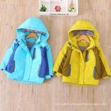 детская куртка пальто Рождество хлопка пальто девушки нейлон зима теплая одежда мода Рождественская открытый дети розовый пальто шляпа