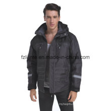 Winter Reflective Industrial Safety Workwear Jacket