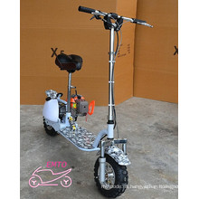 Baratos de 2 ruedas de gas de ruedas pie Scooter para la venta Et-GS010