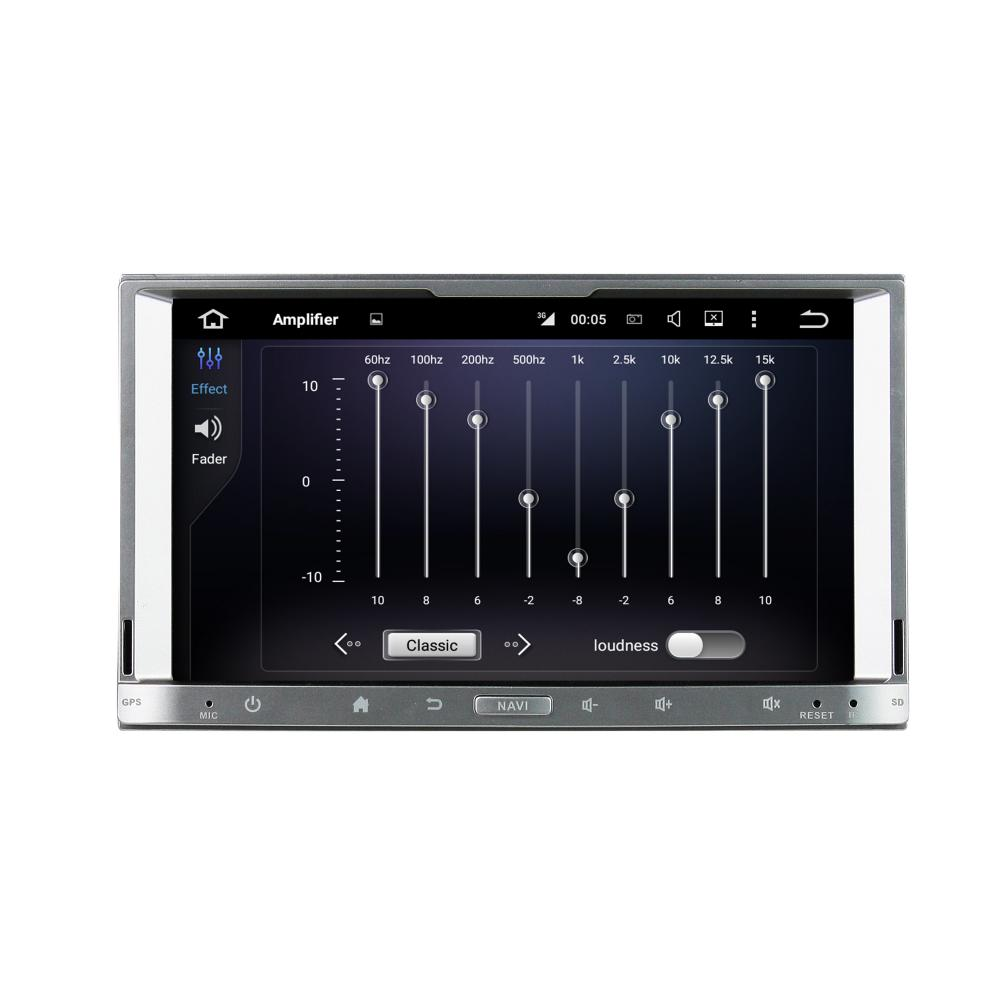 Touch silver universal bil DVD-spelare