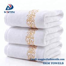 China Fornecedor 100% algodão 21 s / 2 jacquard fio tingido toalhas de banho toalha de Banho / toalha de rosto / toalha de praia / toalha de mão;