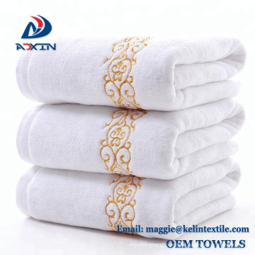China Lieferant 100% Baumwolle 21 s / 2 Jacquard Garn gefärbt Badetücher Badetuch / Gesicht Handtuch / Strand Handtuch / Handtuch;