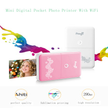 Pocket Printer with Wireless Phone Photo Printer WiFi Portable Mini Photo Printer for Ios and Android Smartphone for Best Christmas Gifts