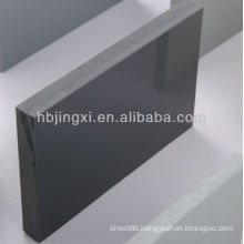Rigid PVC Gray Sheet High Glossy