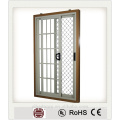 incredible interior door with aluminium lattice/ best aluminium sliding door design