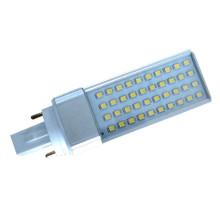 Prix d'usine 121mm SMD 2835 lamelles à maïs led ampoule 6w g24
