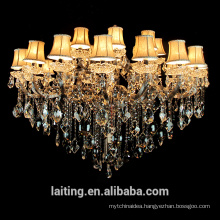 2017 Cyrstal table top chandelier centerpieces for weddings