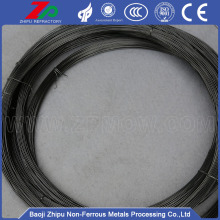 Wholesales 0.18mm Molybdenum wire annealed black