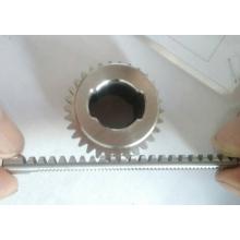 Construcción polipasto piñón y engranaje Racks